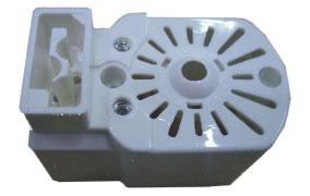 塑膠射出:馬達外殼